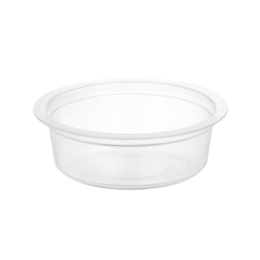 180/28 - Polypropylene cup 60ml, 83mm diameter