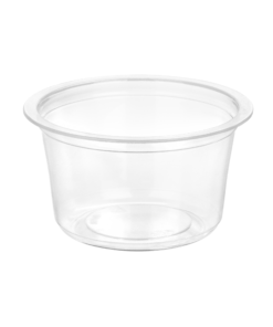 180/47 - Polypropylene cup 130ml, 83mm diameter