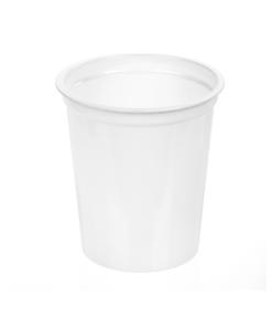204 - Polystyrene DAIRY cup 200ml, 75mm diameter