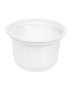 207 - Polystyrene DAIRY cup 200ml, 95mm diameter