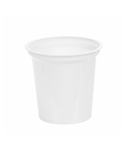 211 - Polystyrene DAIRY cup 150ml, 75mm diameter