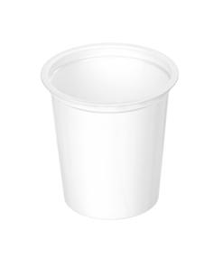 300 - Polystyrene DAIRY cup 350ml, 95mm diameter
