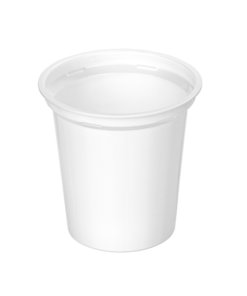 308 - Polypropylene DAIRY cup 320ml, 95mm diameter