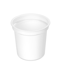 310 - Polystyrene DAIRY cup 320ml, 95mm diameter
