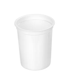 410 - Polystyrene DAIRY cup 410ml, 95mm diameter