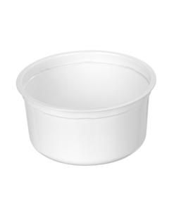 570 - Polypropylene DAIRY cup 615ml, 127mm diameter