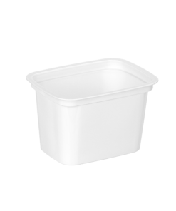 602 - Polystyrene DAIRY cup 300ml, 112mm x 84mm diameter