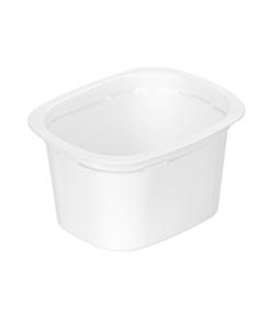 643 - Polypropylene DAIRY cup 180ml, 94mm x 77mm diameter