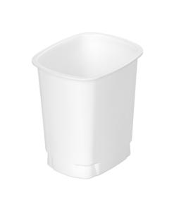 644 - Polypropylene DAIRY cup 400ml, 94mm x 77mm diameter