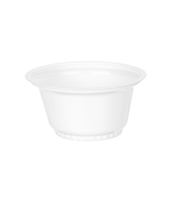 665 - Polystyrene cup 80ml, 73mm diameter