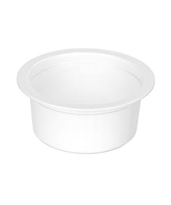 670 - Polypropylene DAIRY cup 50ml, 68mm diameter