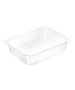 728 - Polypropylene 3 compartment TRAY 500ml/300ml/220ml, dimensions 227 x 178 x 50mm