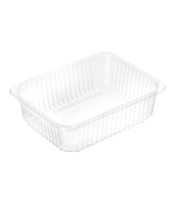 735 - Polypropylene TRAY 2300ml, dimensions 227 x 178 x 80mm