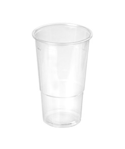 932 - Polypropylene BEER cup 300ml, 78mm diameter