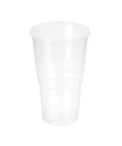 950 - Polypropylene BEER cup 500ml, 95mm diameter