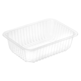 Trays: Polypropylene, 1 2 3 Compartments