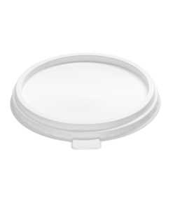 055 - Polypropylene LID, diameter 115mm, 2 step + tab