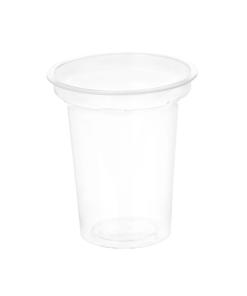 107 - Polypropylene DAIRY cup 150ml, 75mm diameter