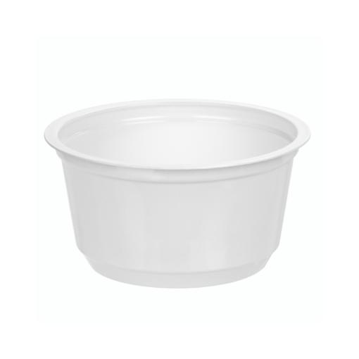 111 - Polystyrene DAIRY cup 180ml, 95mm diameter
