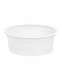113 - Polystyrene DAIRY cup 125ml, 95mm diameter