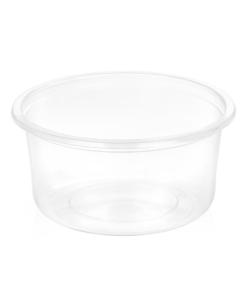 121 - Polypropylene SALAD container 350ml, 115mm diameter