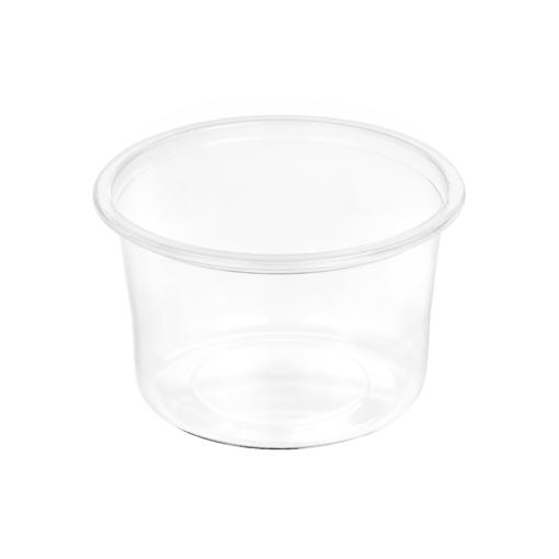 122 - Polypropylene SALAD container 450ml, 115mm diameter