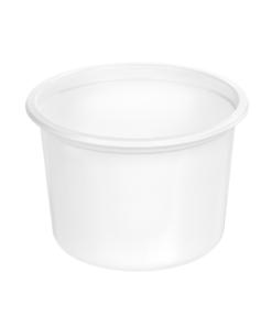 123 - Polypropylene SALAD container 500ml, 115mm diameter