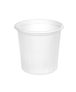 126 - Polypropylene SALAD container 800ml, 115mm diameter