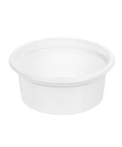 129 - Polypropylene DAIRY cup 200ml, 115mm diameter