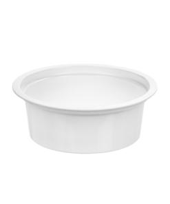 144 - Polypropylene DAIRY cup 125ml, 95mm diameter