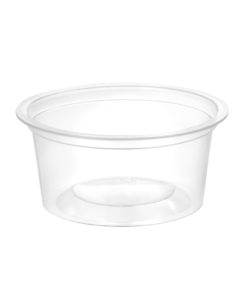 153 - Polypropylene DAIRY cup 150ml, 95mm diameter