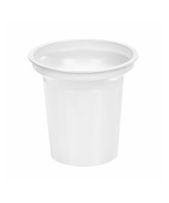154 - Polystyrene DAIRY cup 140ml, 75mm diameter