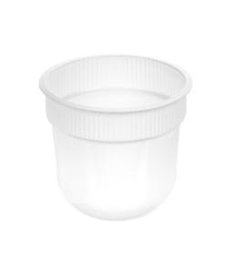 165 - Polypropylene DAIRY cup 410ml, 95mm diameter