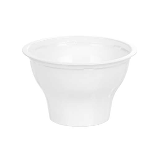 177 - Polypropylene DAIRY cup 200ml, 95mm diameter, under rim diameter - 87.5mm