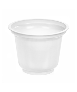 195 - Polystyrene DAIRY cup 200ml, 95mm diameter