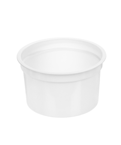 197 - Polystyrene DAIRY cup 215ml, 94.5mm diameter