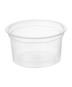 202 - Polypropylene DAIRY cup 200ml, 95mm diameter