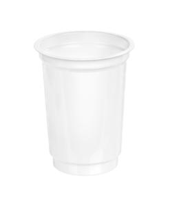203 - Polystyrene DAIRY cup 220ml, 75mm diameter