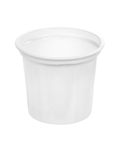 218 - Polystyrene DAIRY cup 300ml, 95mm diameter