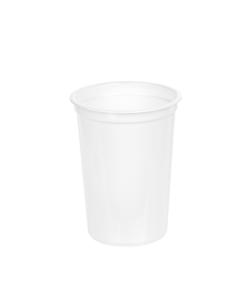 210 - Polystyrene DAIRY cup 210ml, 75mm diameter