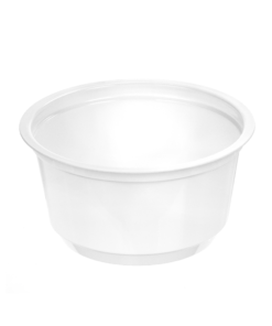 212 - Polystyrene DAIRY cup 100ml, 75mm diameter