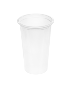 215 - Polypropylene DAIRY cup 220ml, 75mm diameter