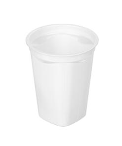 260 - Polystyrene DAIRY cup 400ml, 95mm diameter