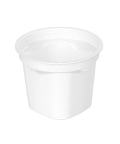 260/174 - Polystyrene DAIRY cup 250ml, 95mm diameter