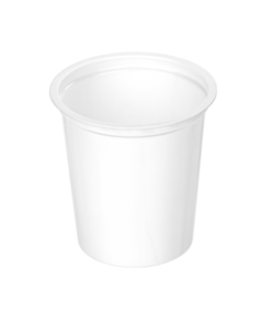300 - Polystyrene DAIRY cup 350ml, 95mm diameter