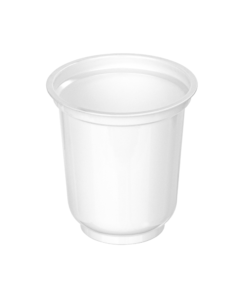 301 - Polystyrene DAIRY cup 350ml, 95mm diameter