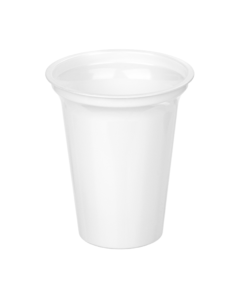 303 - Polystyrene DAIRY cup 350ml, 95mm diameter