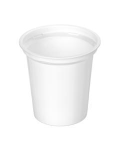 308 - Polypropylene DAIRY cup 320ml, 95mm diameter