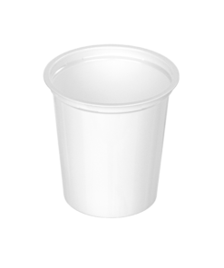 320 - Polypropylene DAIRY cup 400ml, 95mm diameter