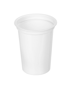 400 - Polystyrene DAIRY cup 400ml, 95mm diameter